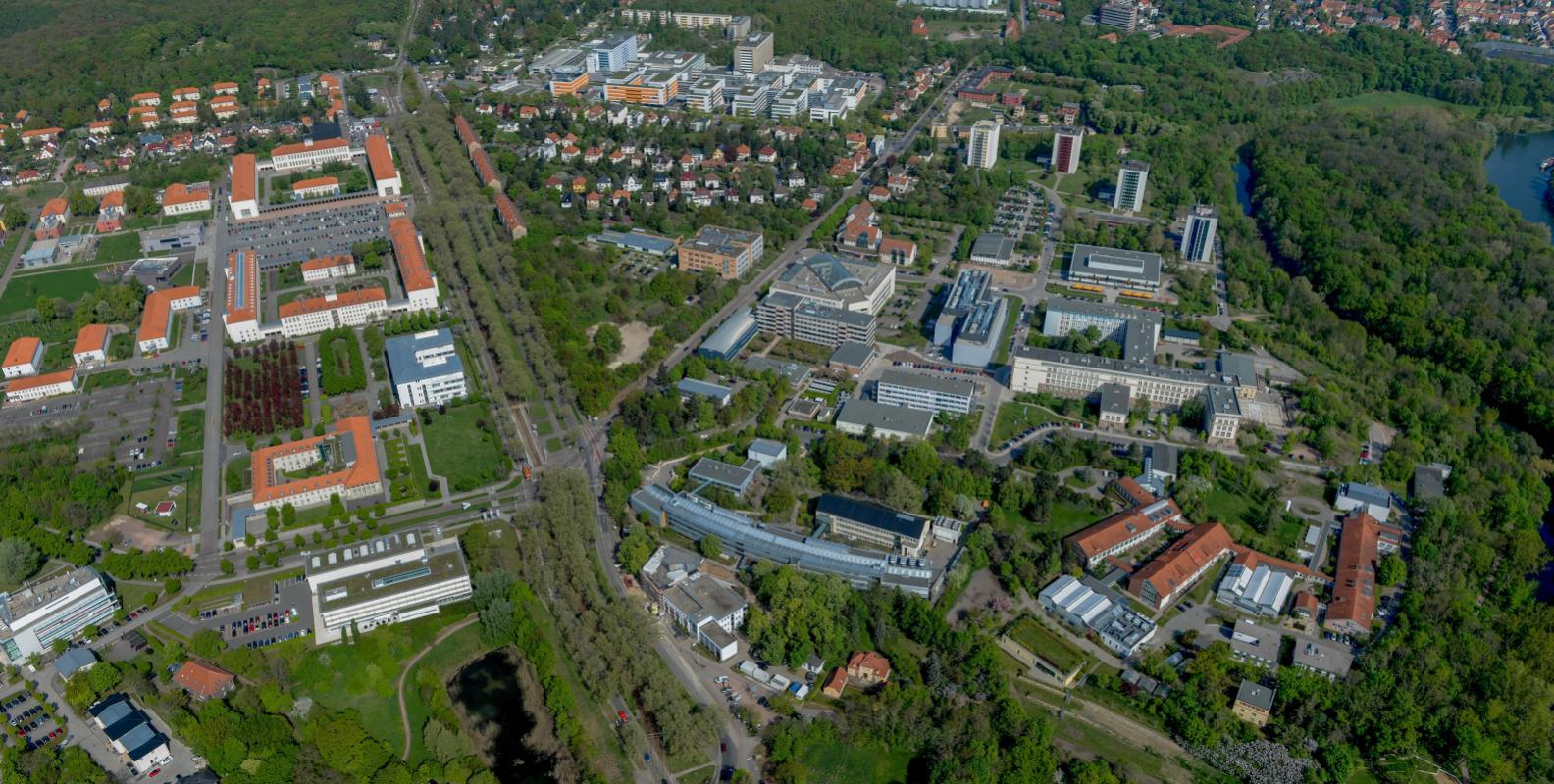 Luftbild Weinberg Campus